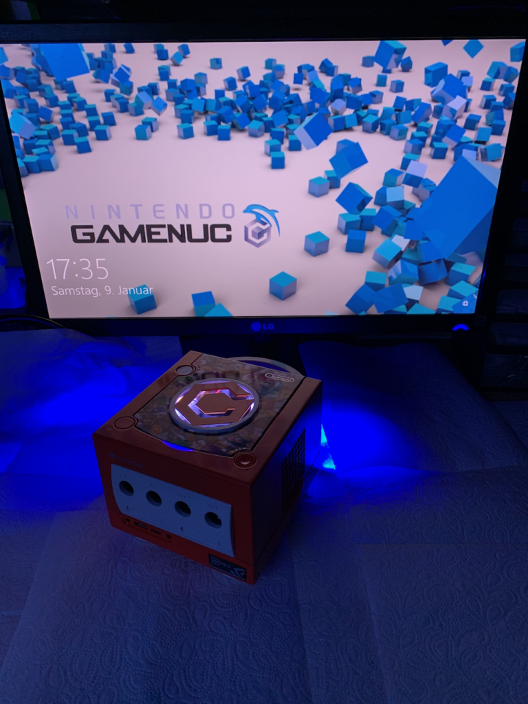 GameNuc - Gaming PC im GameCube